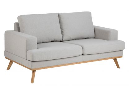 Norwich 2 pers sofa lysegrå