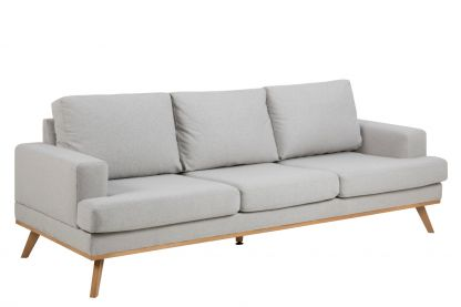 Norwich 3 pers sofa lysegrå